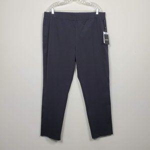 DKNY Pull-On Skinny Pants Black Size XL